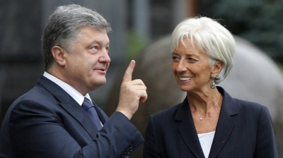 IMF demands Ukraine president submit bill on anti-corruption court to parliament