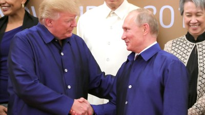 Putin and Trump trying to walk back Syria strike and sanctions tensions