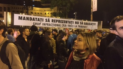 Thousands protest in Bucharest as investigation into former minister blocked