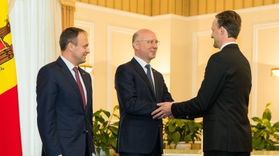 Moldova's new defence minister sworn in