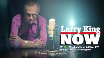 US anchor Larry King mentioned in Ukraine's 'bribe books'