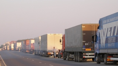 Romanian truckers' protest reveals crisis in insurance market