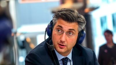 Croatia's centre-right HDZ seeks to revive waning support with new leader Plenkovic