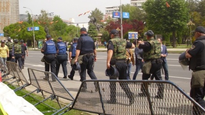 Macedonian police on alert to prevent new incidents in parliament