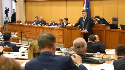 Croatian government survives no-confidence vote