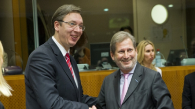 Serbia opens first EU negotiation chapters