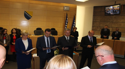 Bosnian Federation's president appoints four new ministers
