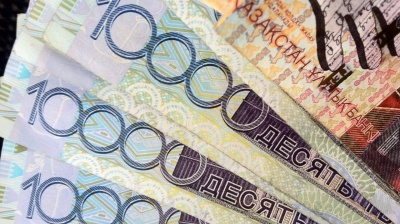Kazakh currency touches new historical low against dollar