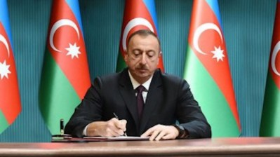 Azerbaijan's President Aliyev to run for fourth term in October