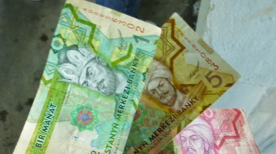Turkmen currency falls by quarter on black market