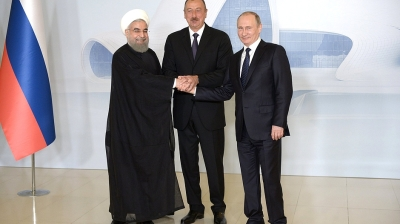 Azerbaijan, Iran and Russia push on with North-South Transport Corridor at trilateral meet