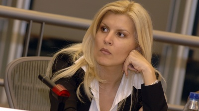 Former Romanian tourism minister and ex-president's daughter indicted in corruption case