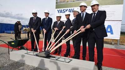 Yaskawa breaks ground for Slovenian robot factory