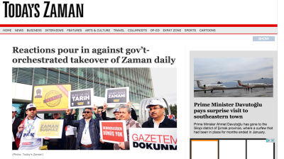 After Zaman seized by govt, is Turkey's independent media set to disappear altogether?